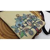 Женская сумка-кошелек Fantasy текстильная, фото 3