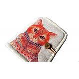 Женский текстильный кошелек Котофей, фото 2