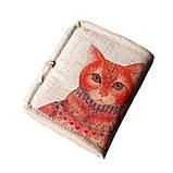 Женский текстильный кошелек Котофей, фото 4