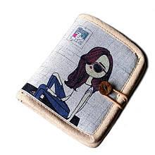 Женский текстильный кошелек Джинсовое настроение