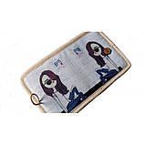 Женский текстильный кошелек Джинсовое настроение, фото 3