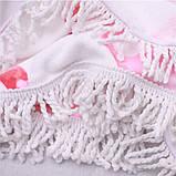 Пляжное полотенце Фламинго из микрофибры, круглое, фото 4