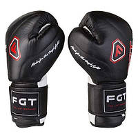 Боксерские перчатки FGT, Cristal 8, Чёрный, фото 1