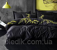 Набор постельного белья сатин печатный 200х220 Cotton box ENERJI