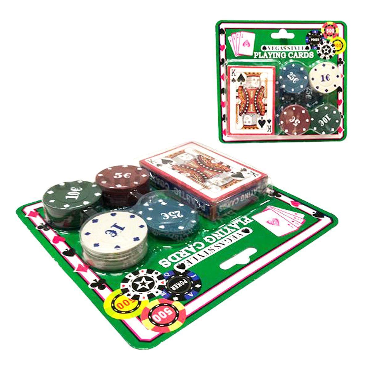 """Игровой набор """"Карты и жетоны"""" IGR45"""