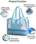 Пляжная сумка Weekeight Далматин. Зеленый, фото 2