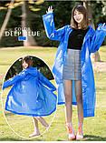 Плащ-дощовик EVA Raincoat Унісекс. Темно-синій, фото 5