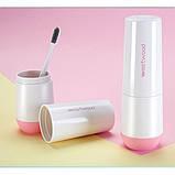 Travel чашка Westwood для зубной пасты и щетки. Белая, фото 4