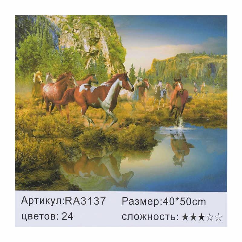Картина по номерам RA 3137 (30) 40х50см