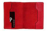 Обложка на паспорт Grande Pelle. Красная, фото 3
