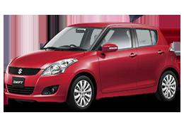 Коврик в багажник для Suzuki (Сузуки) Swift 4 2010-2017