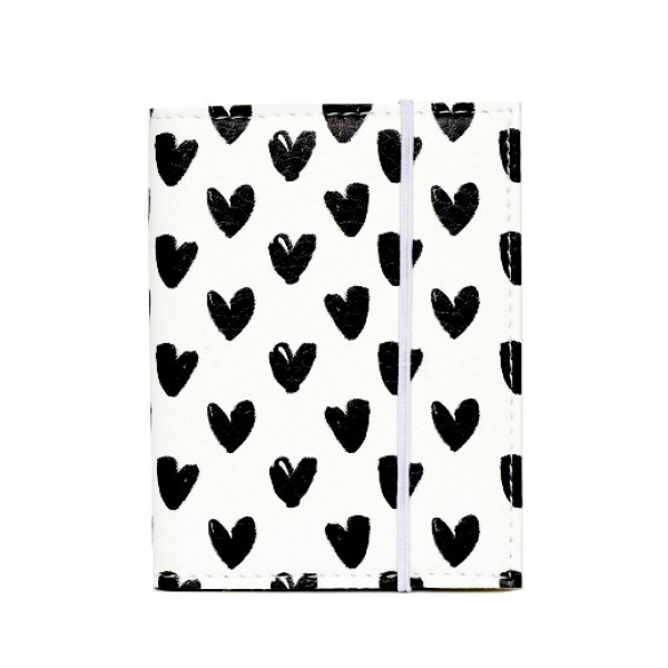 Визитница для карточек Сердечки