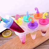Формочки для мороженого Зонтики (6 форм), фото 2