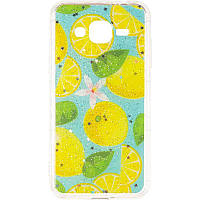Summer Fruit Case for Samsung M205 (M20) Lemon, фото 1