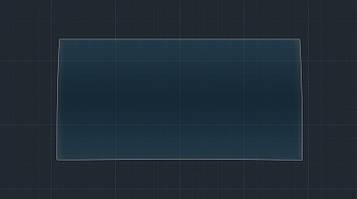 Защитное гибридное стекло на монитор MATT LEXUS NX 2014 - 2016