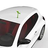3D наклейка на авто Саженец, фото 6