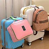 Ремень для крепления сумки к чемодану. Розовый, фото 3
