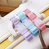 Ремень для крепления сумки к чемодану. Розовый, фото 4
