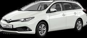Коврик в багажник для Toyota (Тойота) Auris 2 (E180) 2012+