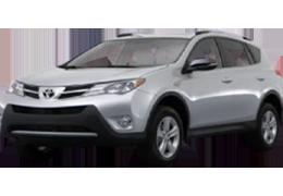 Коврик в багажник для Toyota (Тойота) RAV4 4 2013-2018