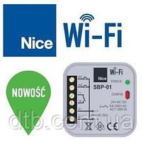 Универсальный WiFi модуль SBP-01 Nice для управления автоматикой