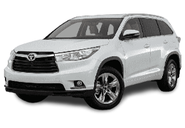Коврик в багажник для Toyota (Тойота) Highlander 3 2013+