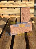 Цокольна плитка рваний камінь, розмір 250х105х20мм, фото 9