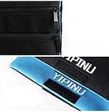 Дорожный кошелек на шею YIPINU. Синий/Черный, фото 8