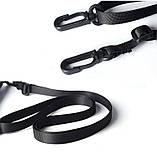 Дорожный кошелек на шею YIPINU. Синий/Черный, фото 9