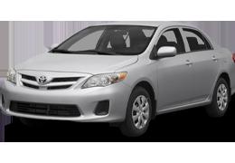 Коврик в багажник для Toyota (Тойота) Corolla 10 2006-2013