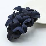 Заколка для волос с цветами Blue flowers, фото 4