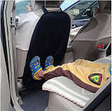 Защитный чехол на спинку переднего сиденья от ног ребенка, фото 3