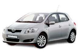 Коврик в багажник для Toyota (Тойота) Auris 1 (E150) 2006-2012
