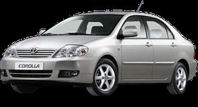 Коврик в багажник для Toyota (Тойота) Corolla 9 2000-2007