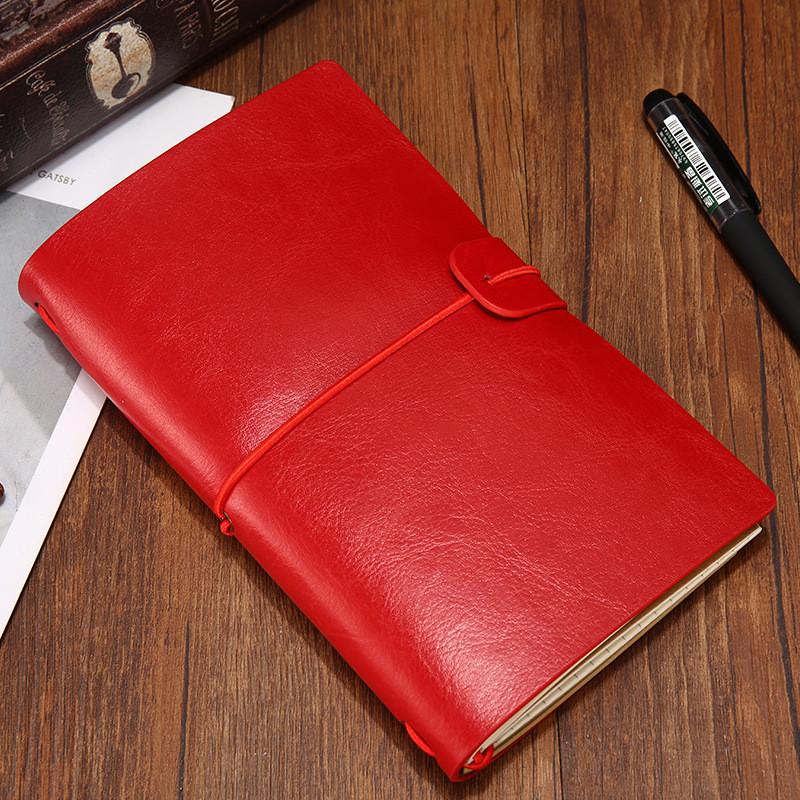 Блокнот для записей и заметок Senno. Красный