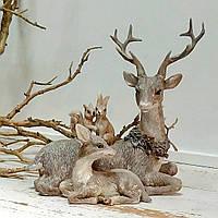 Фигурка под елку новогодняя  Олени, 18см, фото 1