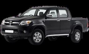 Коврик в багажник для Toyota (Тойота) Hilux 7 2004-2015