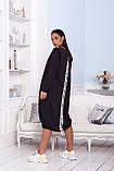 Женское платье свободного кроя Турецкая двунитка, фото 3