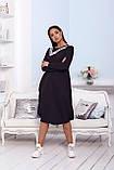 Женское платье свободного кроя Турецкая двунитка, фото 10