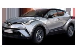 Коврик в багажник для Toyota (Тойота) C-HR 2016+