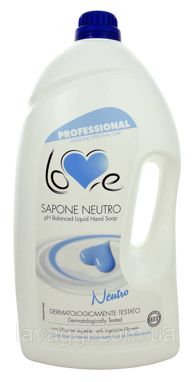 Крем-мыло с нейтральным pH Madel Love Sapone Cremoso Neutro 5000 ml