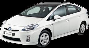 Коврик в багажник для Toyota (Тойота) Prius 3 2009-2015