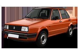 Коврик в багажник для Volkswagen (Фольксваген) Jetta 2 1984-1992