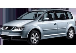 Коврик в багажник для Volkswagen (Фольксваген) Touran 1 2003-2010