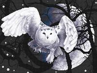Набор для вышивки крестом Panna Ж-0359 Белая сова