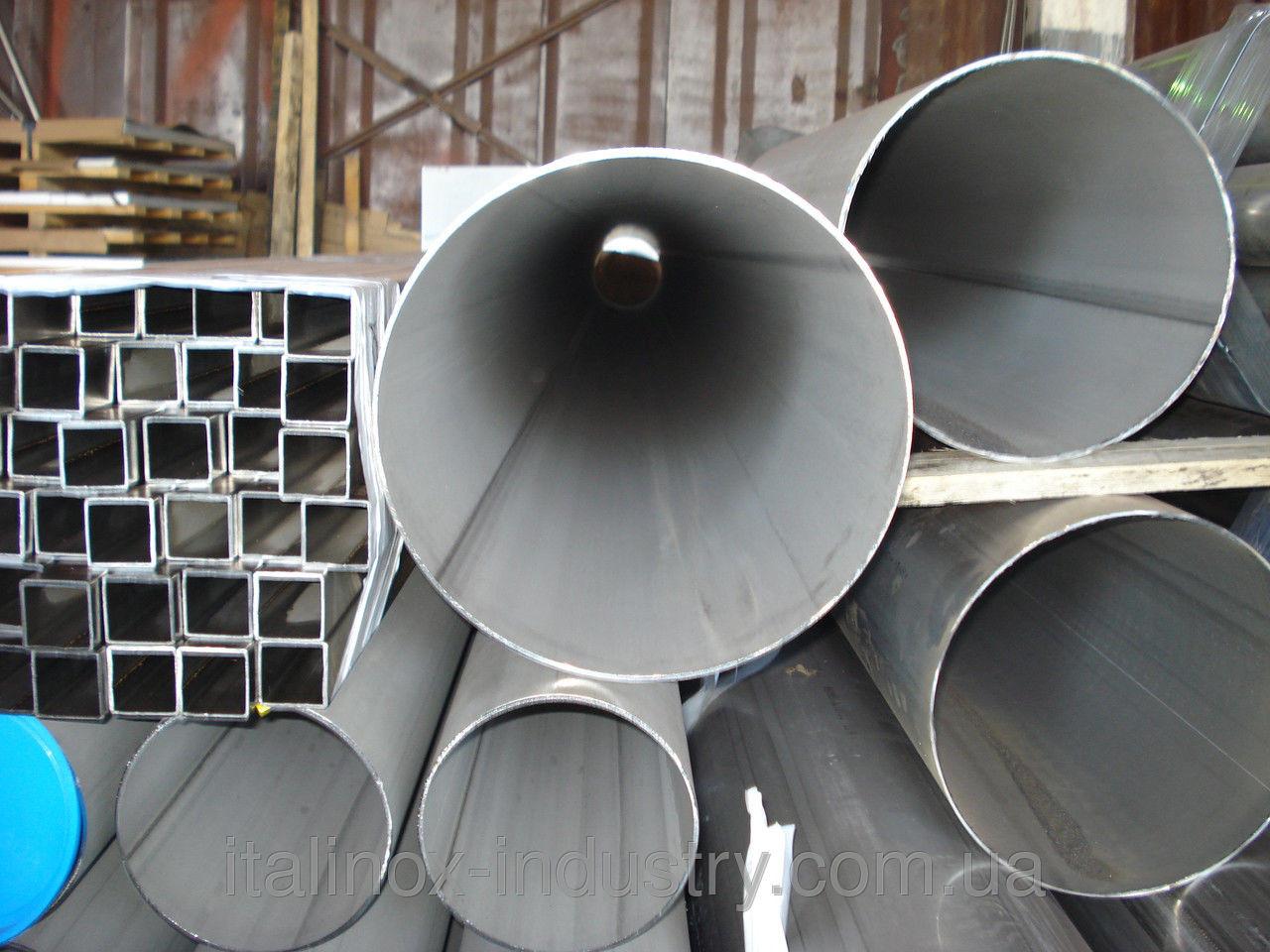 Нержавеющая труба 04Х18Н10  108 х 3,0