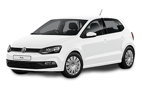 Коврик в багажник для Volkswagen (Фольксваген) Polo 5 2009-2017