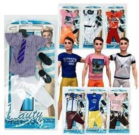 Одежда для куклы HX202, 6в. пакет 26*1,5*10,5см