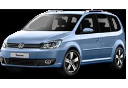 Коврик в багажник для Volkswagen (Фольксваген) Touran 2 2010-2015