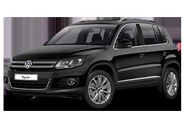 Коврик в багажник для Volkswagen (Фольксваген) Tiguan 1 2007-2015